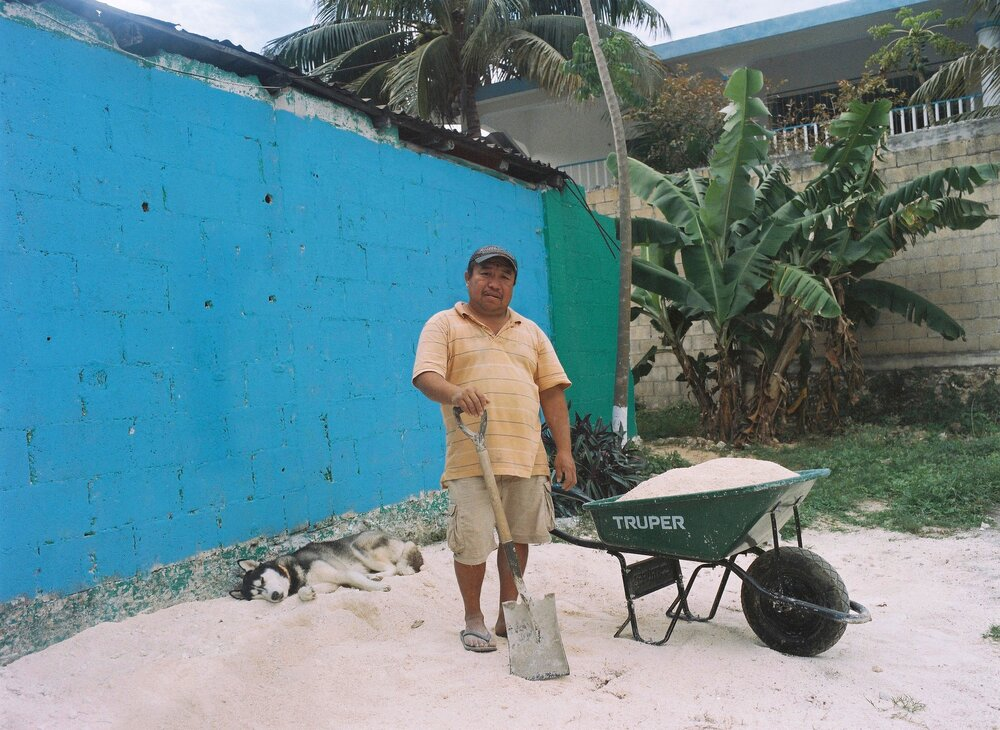 Yucatecan Worker, Tulum, Mexico 2018