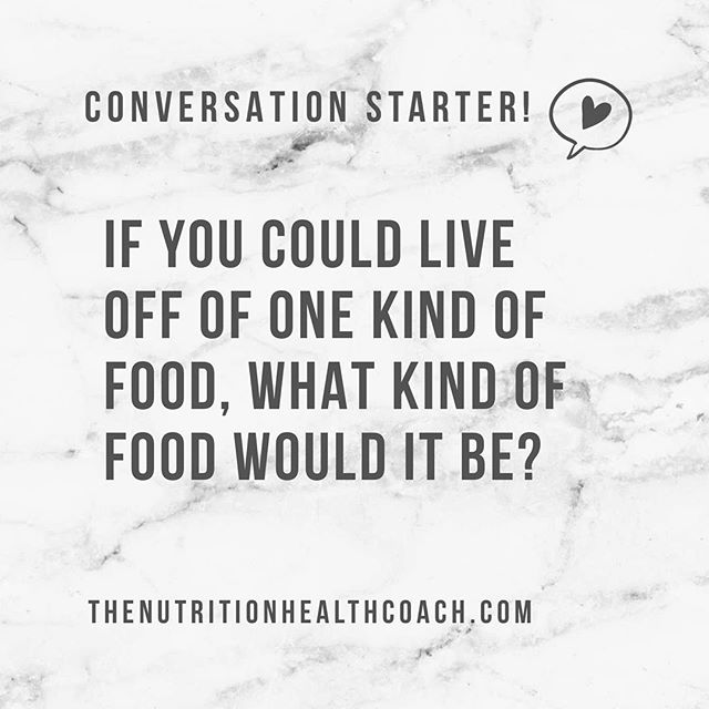 "🎉 NEW SERIES! I want to have a #conversation WITH YOU! ————— I want to know more about my new Instagram friends! So- let's start... What kind of food would you choose if you could only live off of one choice!? ☝🏼For me? If I ignored my ""healthy option"" it would have to be CHIPS! They are such a #guiltypleasure of mine. But you have to promise you won't tell anyone... 😉 ————— #question #questionoftheday"