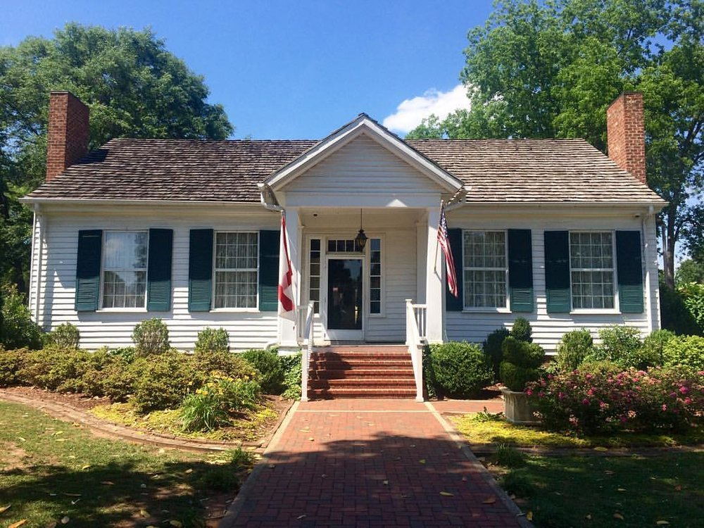 Birthplace of Helen Keller in Tuscumbia, AL