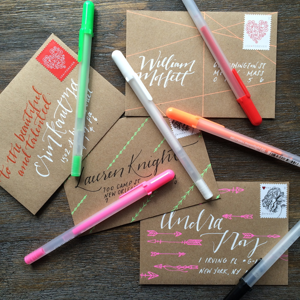 Addressing An Envelope With Jillian Schiavi Of Jilly Ink  WriteOn