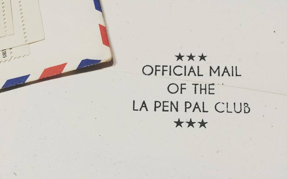 La pen pal club writeon pen pal club and asked her a few questions about what sparked the idea and where she see the future of letter writing heading thecheapjerseys Images