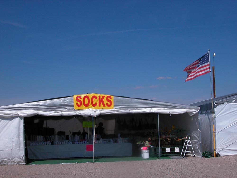 Socks, Quartsize Arizona (2004)
