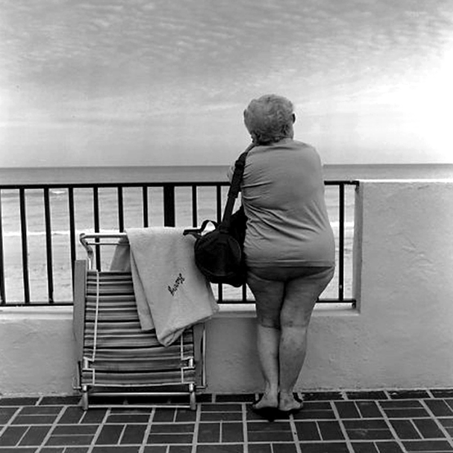 Woman on Patio, Florida (1992)