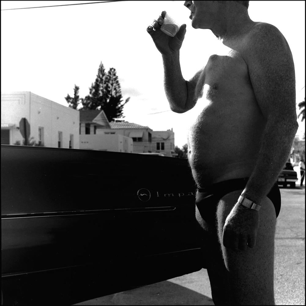 Man in Speedo, Florida (1992)