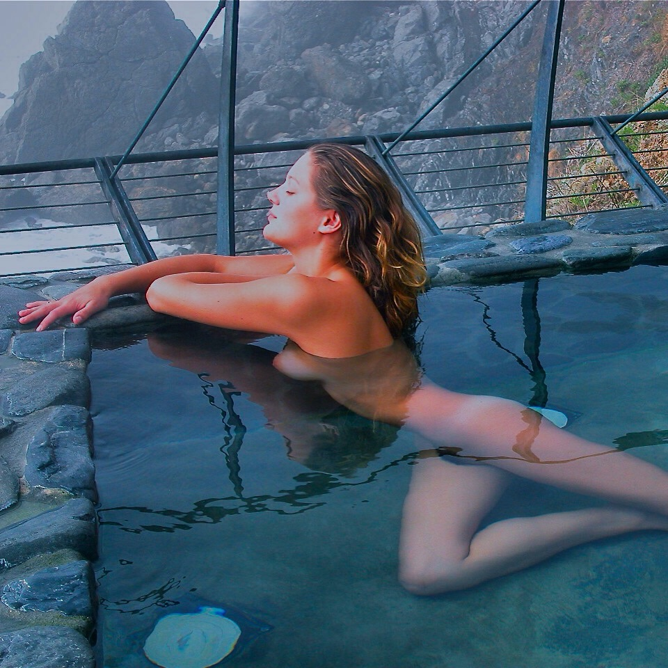 Bather, Esalen Hot Baths (1998)