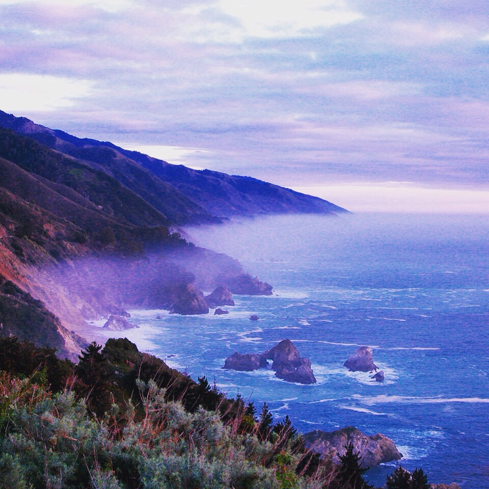 Coastline, Big Sur, CA (1998)