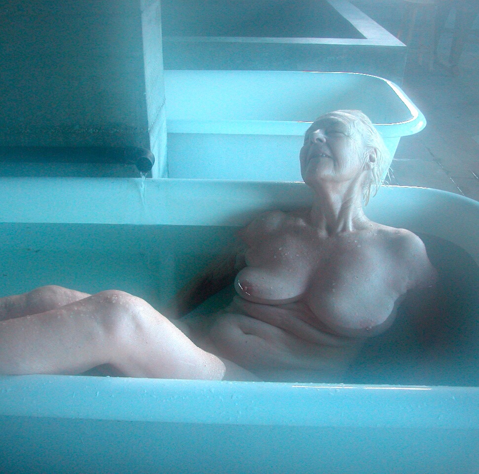 Bather, Esalen Institute, (1998)