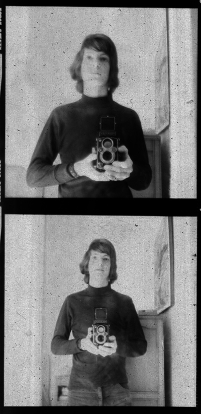 Self portrait diptych, 1972