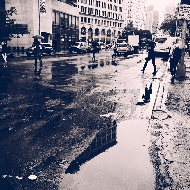 rainy day (Taken with  Instagram )