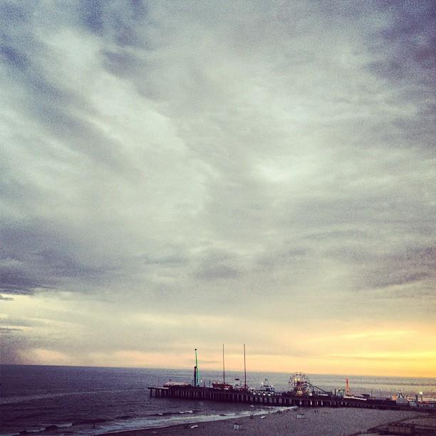 Atlantic City Boardwalk | Sunset (taken with Instagram)