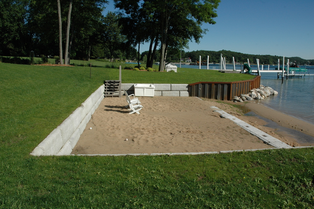 Steel Seawall/Redi-Rock Placement/Residential Beach Area, photo 3