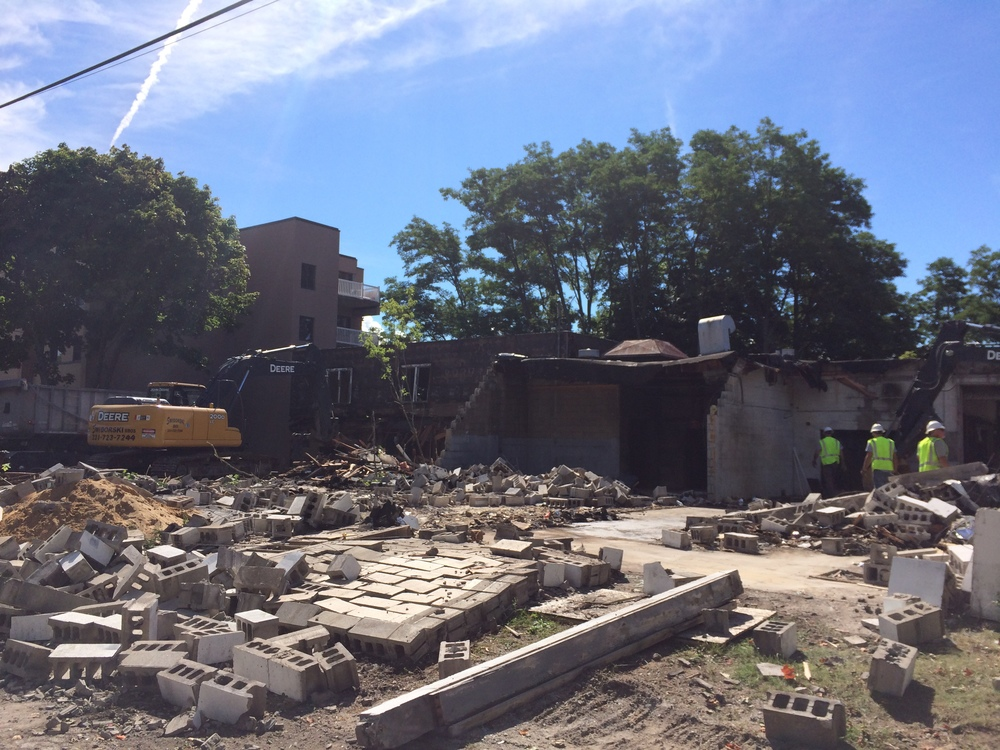 Manistee Plating Building Demolition and Clean-up, photo 1