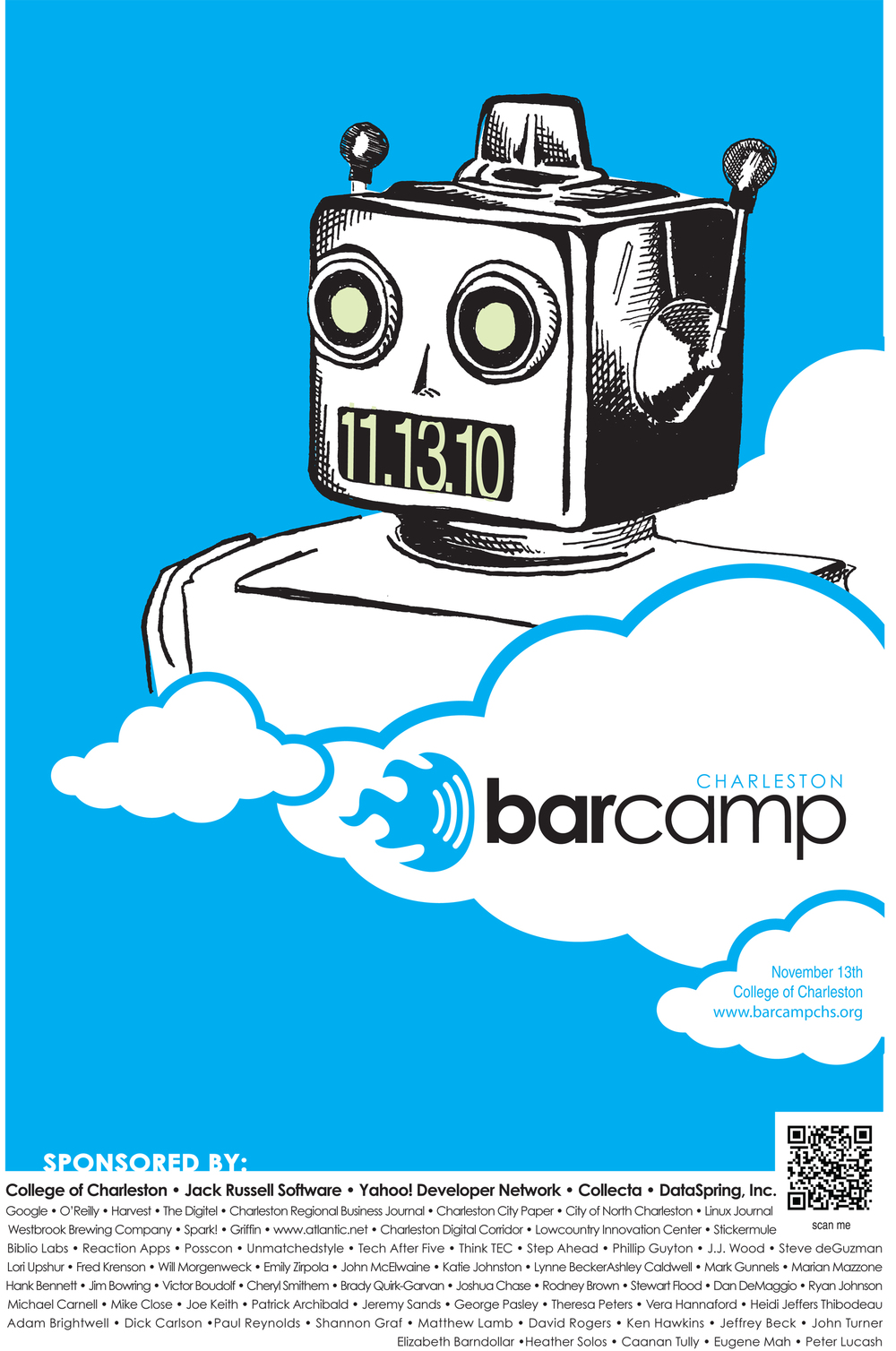 BarCamp Event Poster
