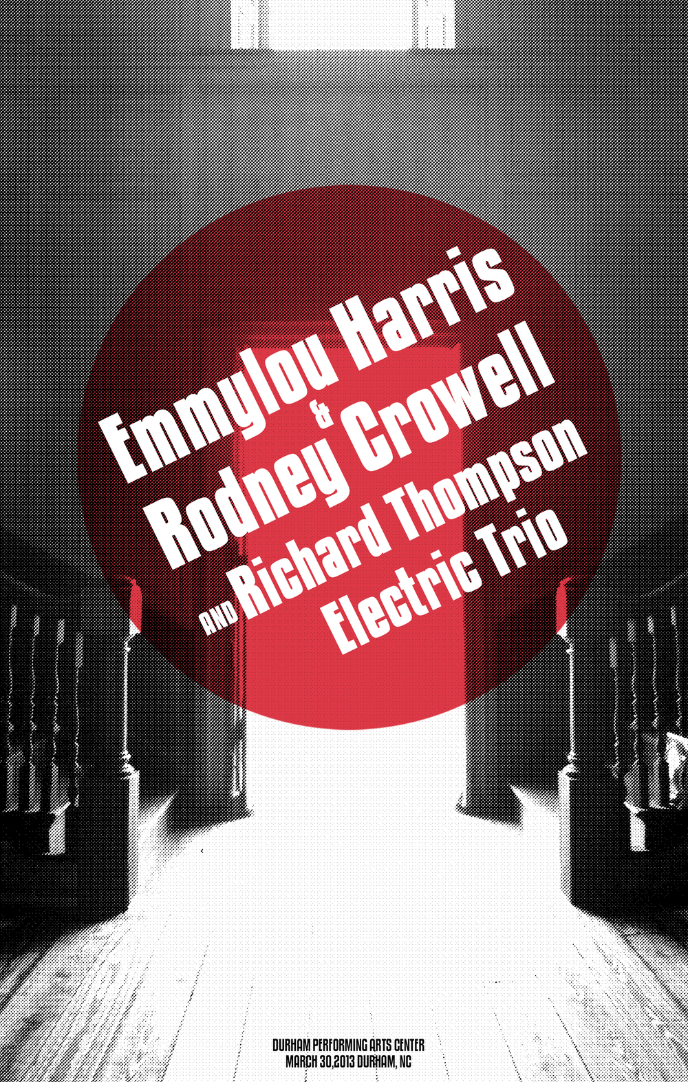 Emmylou Harris, Rodney Crowell, and Richard Thompson Electric Trio