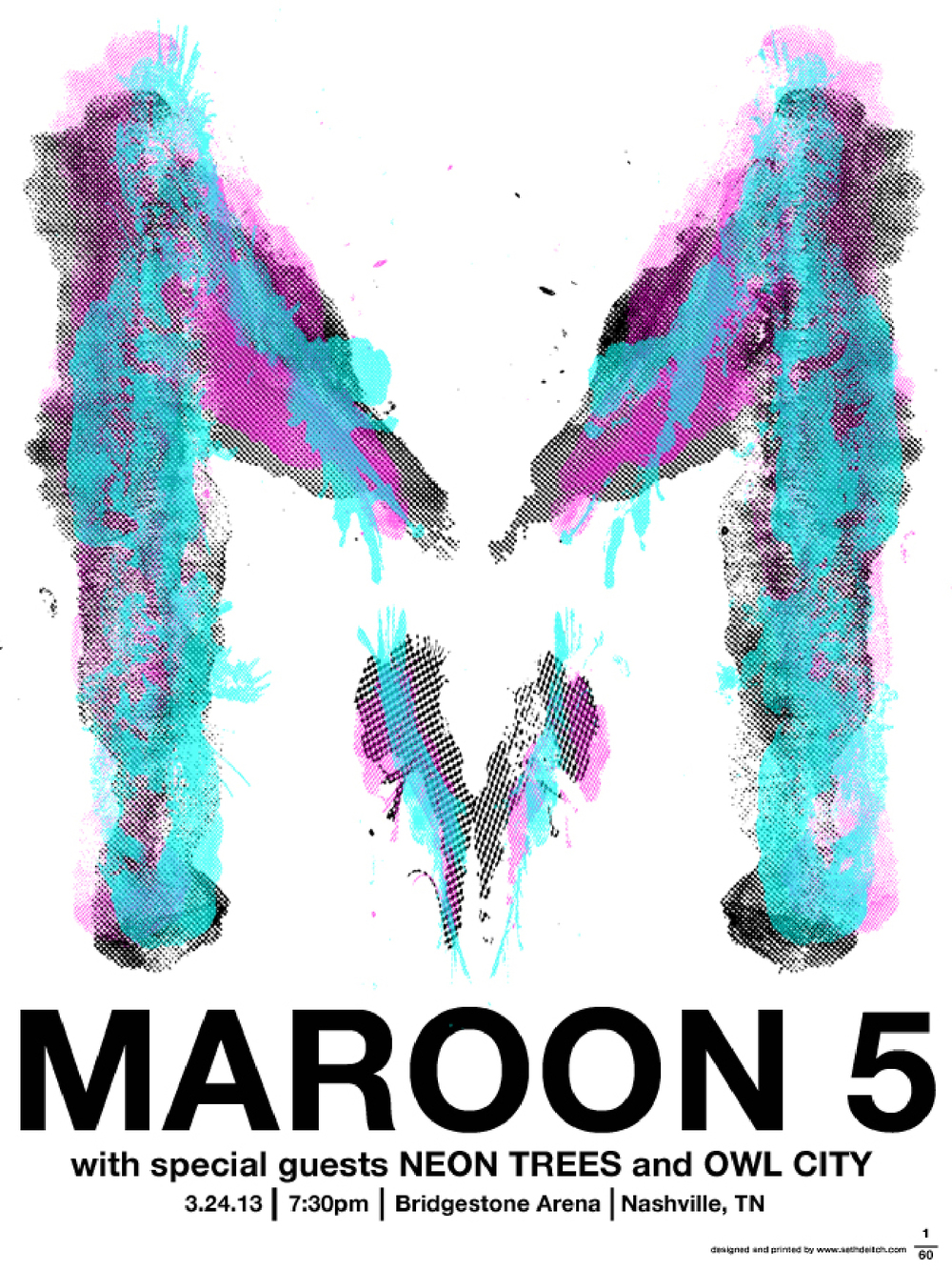 Maroon 5 with special guests Neon Trees and Owl City