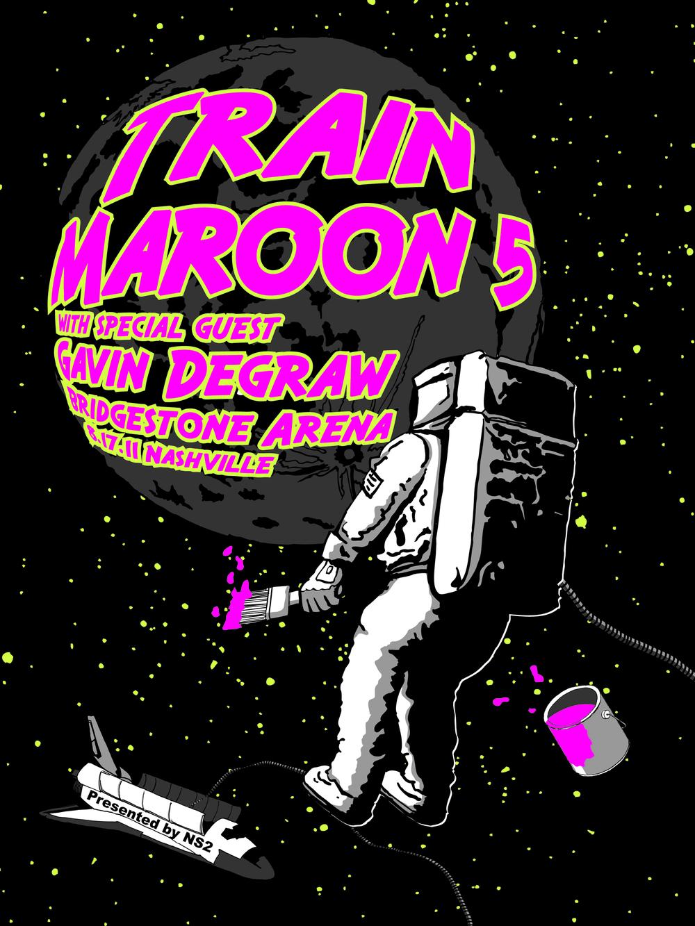 Train, Maroon 5, and Gavin Degraw