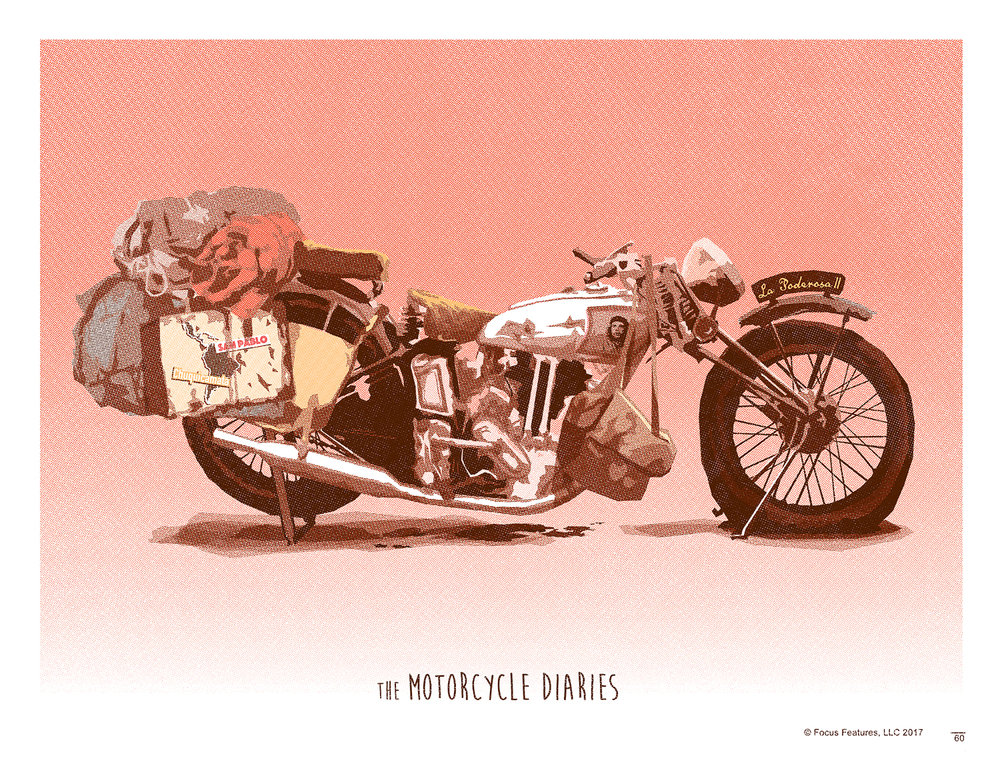Motorcycle Diaries Screen Print