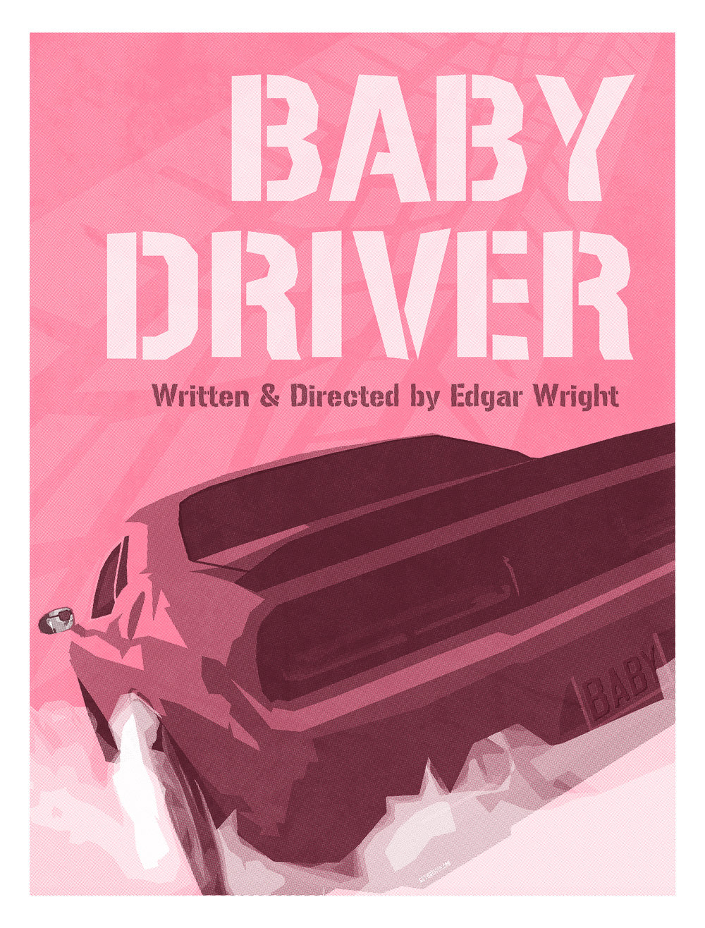 OFFICIAL GALLERY 1988 Baby Driver Print