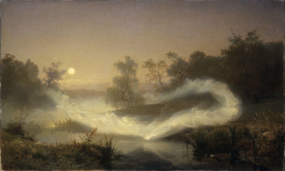 Painting by Johan August Malmstrom