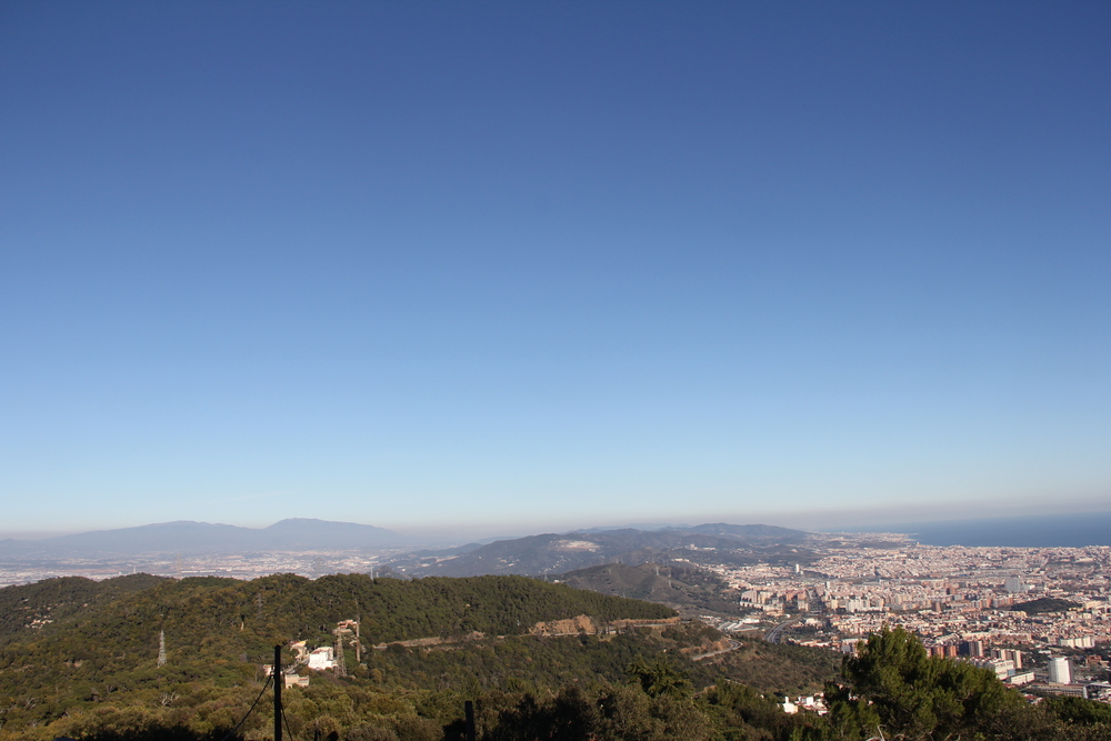 Some view eh....from Hotel in Tibidabo