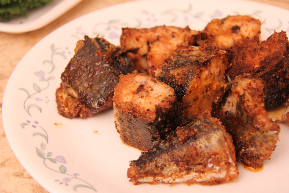 Seasoned Oven rosted Makerel