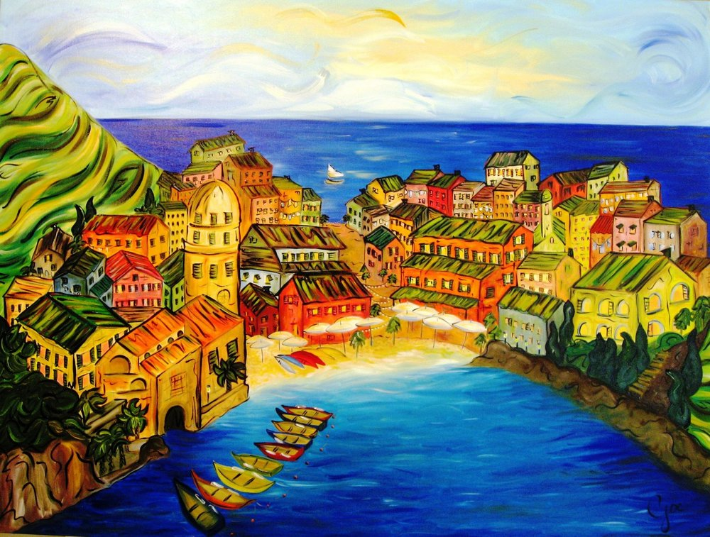 summer in italy (sold)