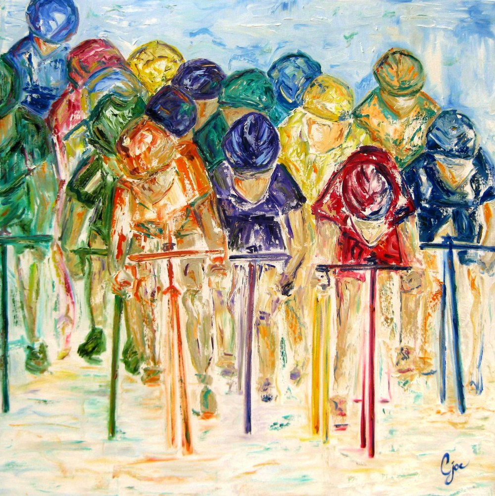 colors of the peloton (sold)