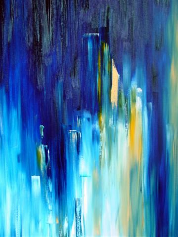 blue skyline (sold)