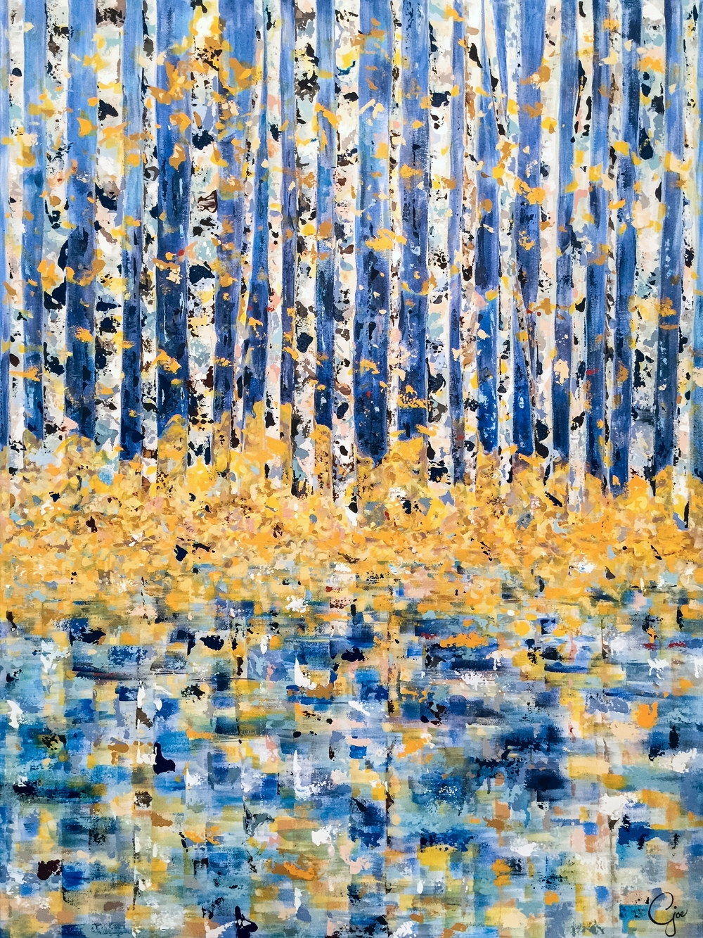 autumn aspens (sold)