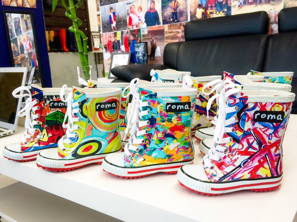 Roma Boots children's rain boot designs