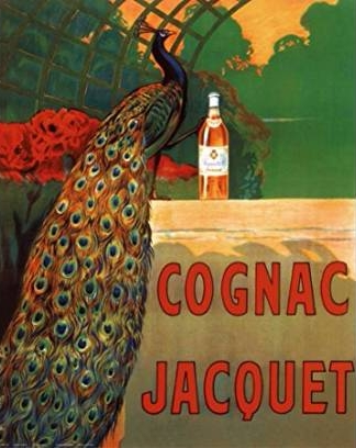 Cognac Jacquet - Framed French poster by Capiello,