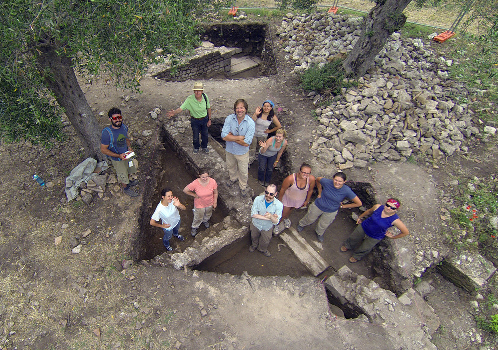 The 2014 Excavation Team