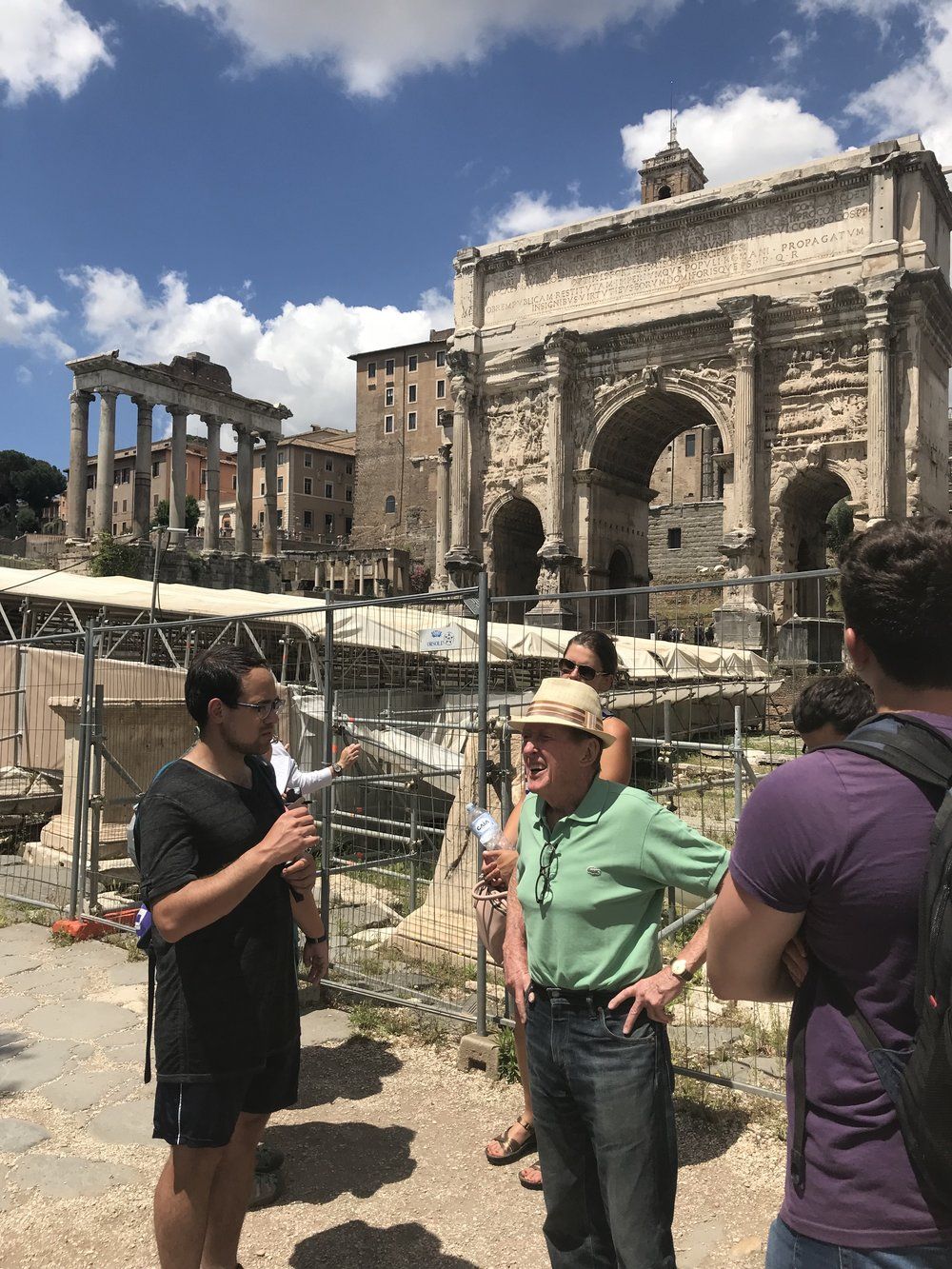 Touring the Forum