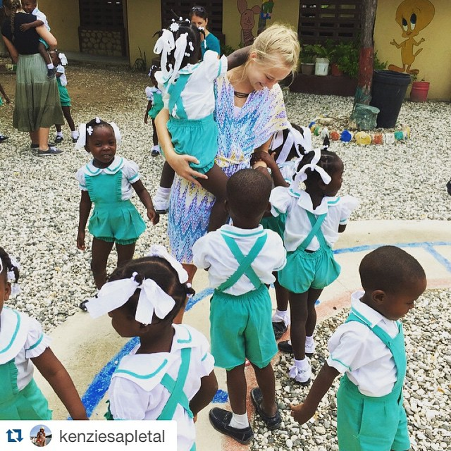 #Repost @kenziesapletal with @repostapp. ・・・ Currently in Haiti withdrawal and can't do anything about it but post pictures. I mean, those kindergarten uniforms though 😍😍