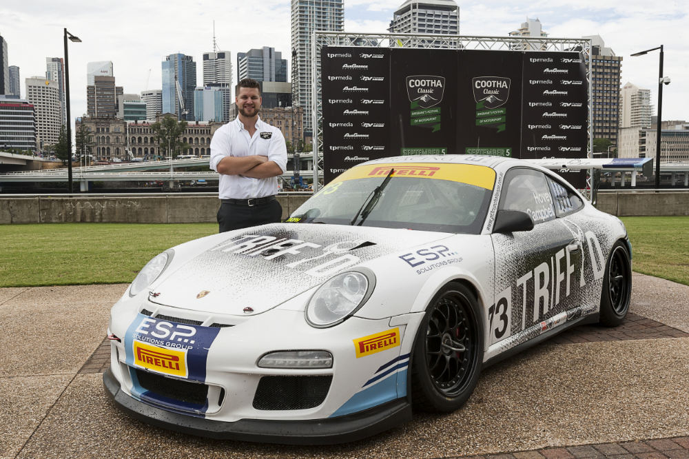 Event director James Payne launches Cootha Classic in Brisbane