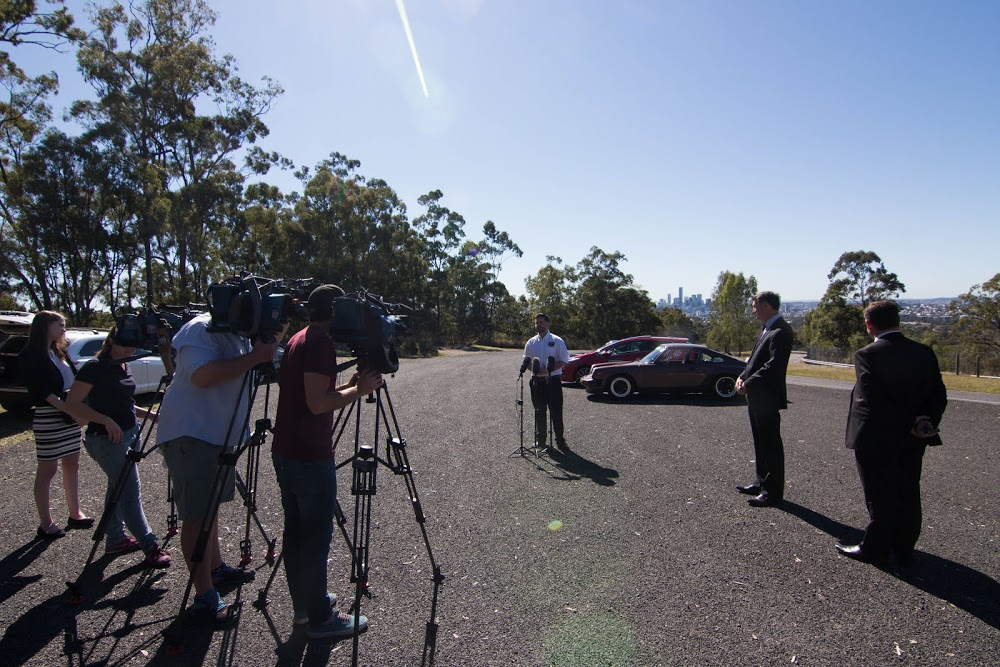 Media Conference announcing the return of the Cootha Classic - Brisbane's Festival of Motorsport.