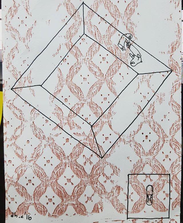 Qumooth and the box.  غموض و الصندوق.  #excersise #ARCH206 #SpacesOfLiving #kuwaituniversity #architecture #studio #qumooth #غموض #كلية_العمارة #جامعة_الكويت #