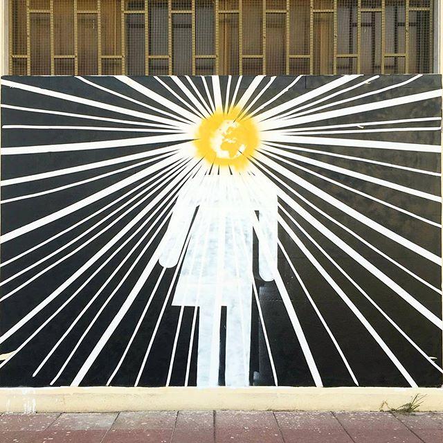 #انتماء شغلنا لإحدى حوائط @jedareyat في منطقة #القصور.  This one of our walls for @jedareyat in #Qusour themed #belonging . Follow them to see the work of the amazing different artists they've commissioned.  #Kuwait #walls #art #stencil #كويت #فن سبري #spraypaint #he #she #us #earth