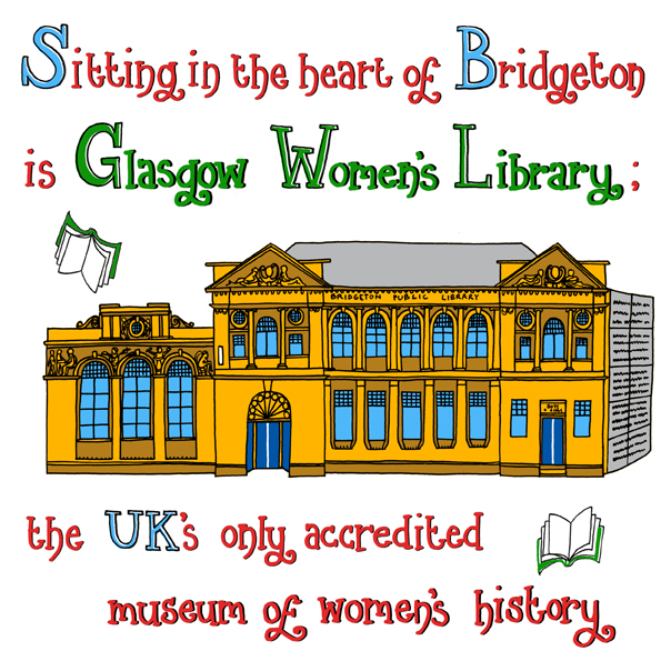 The Glasgow Women's library in Bridgeton.