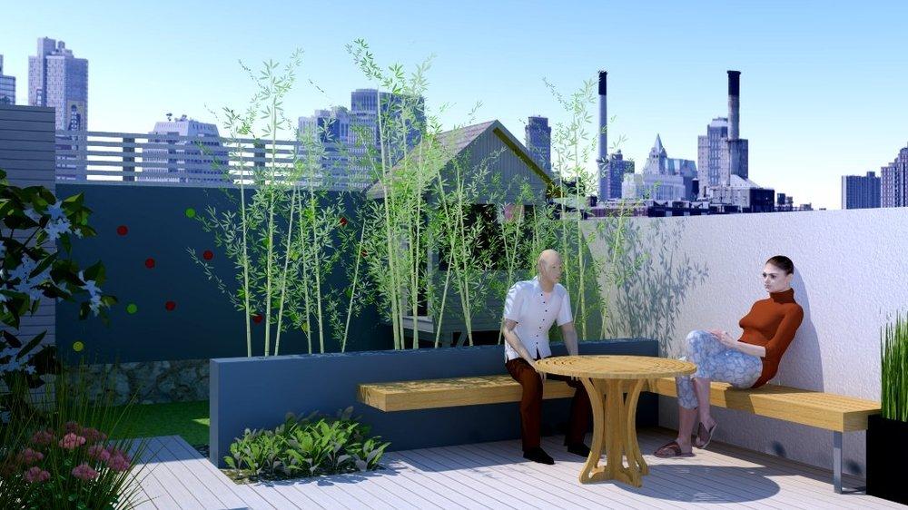 City Garden - 3D Design