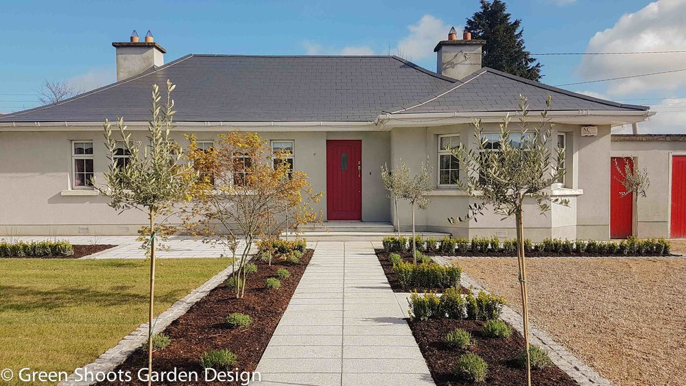 Garden design - Front garden