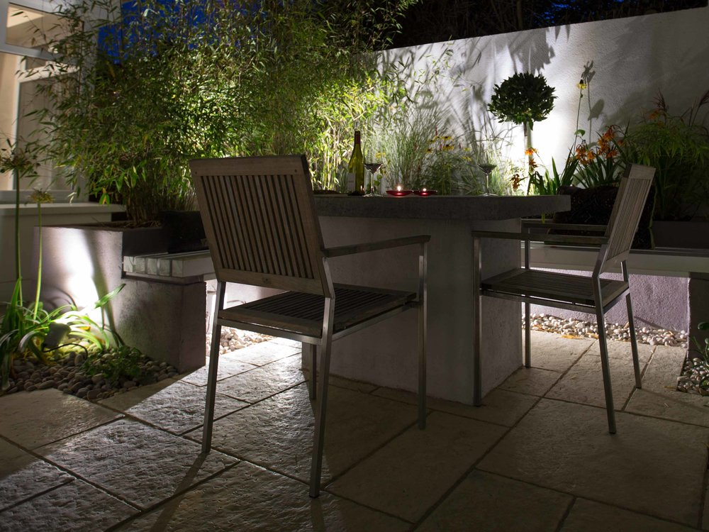 Garden design - Night garden