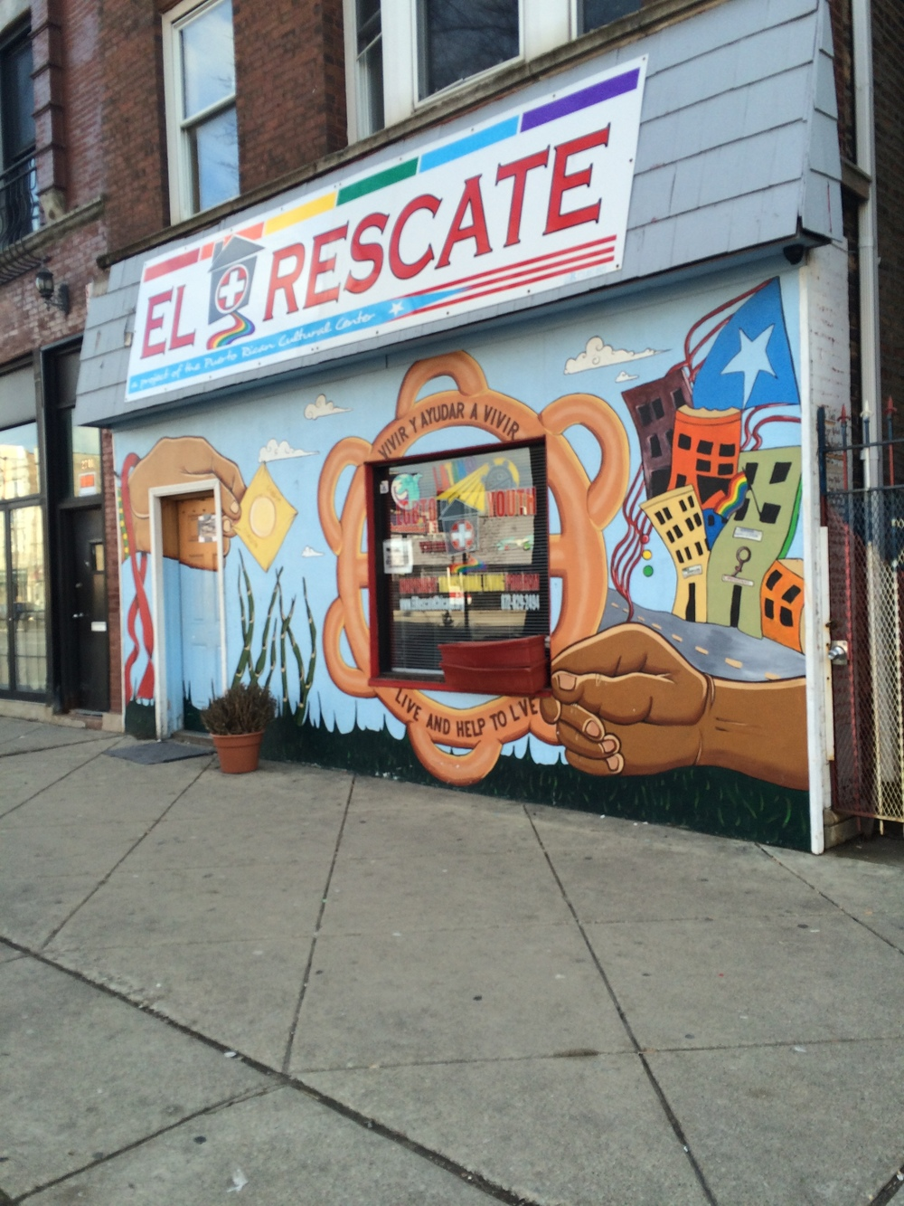 Any leftover soup from the event was donated to El Rescate in Humboldt Park so nothing went to waste.