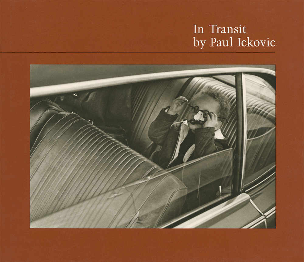 Paul Ickovic's first book,  In Transit