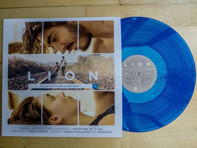 Happy Record Store Day!  Here's my latest purchase, one of the best film scores I've heard in a really long time. :) #vinyl #music #recordstoreday #film #score #lion #OST #record #records #movie #instagood #instagram #insta #blue #landscape