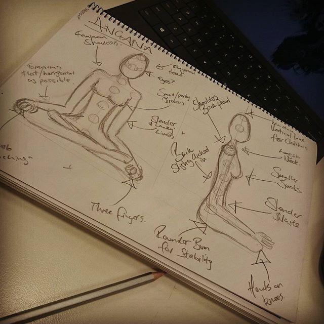 Angana Bodhi Concept Sketch