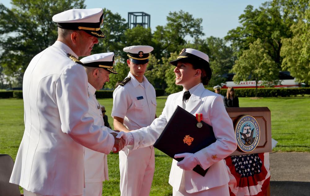 GW ROTC Commencement