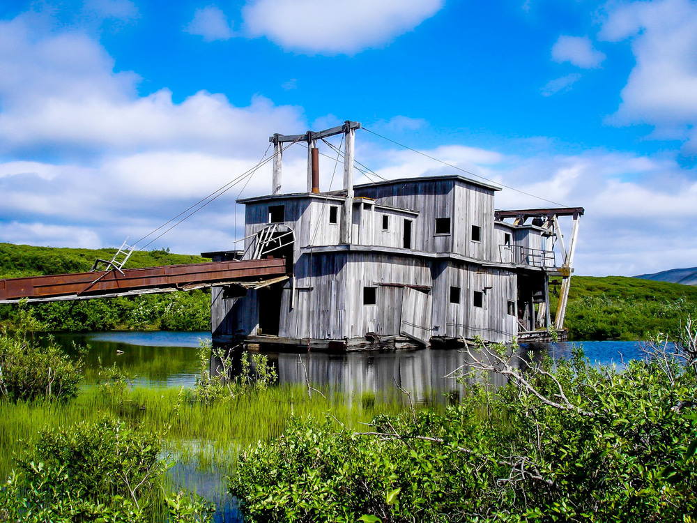 Gold Dredge, Alaska