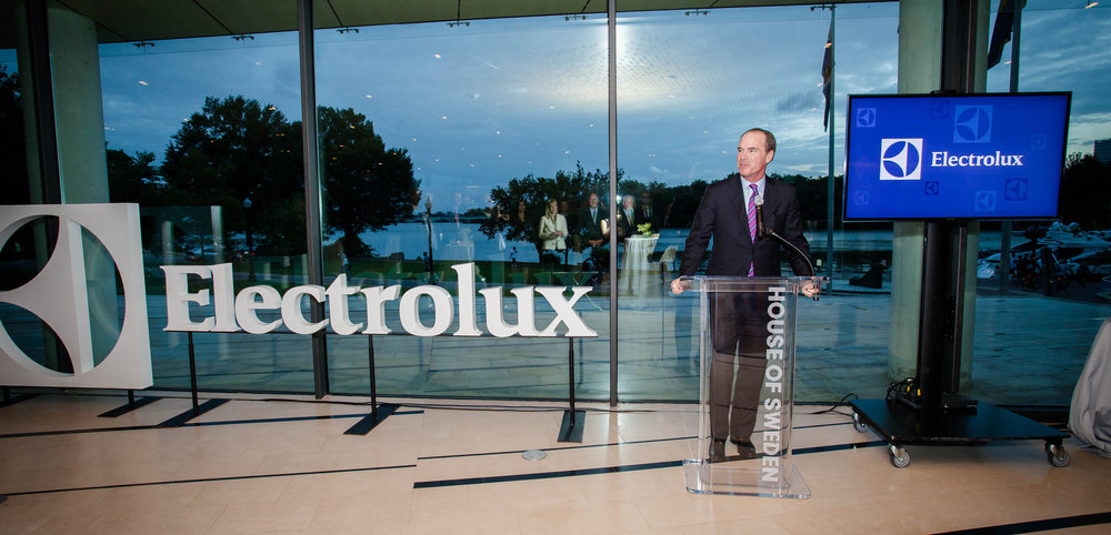 Keith McLoughlin, former President & CEO of Electrolux