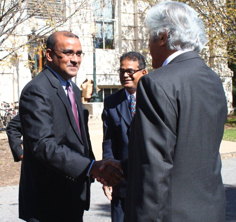 Former Pres. of Guyana Bharrat Jagdeo
